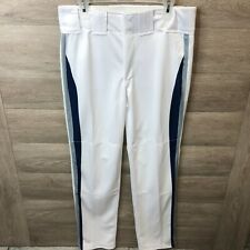 Boombah Mens Size 34 Baseball Pants White NWOT