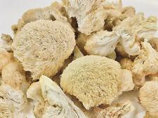Dried Lions Mane Mushrooms (Hericium erinaceus) Michigan Grown at Up Gourmet