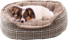 New listing Dog Bed for Small Dogs, Warming Washable Rectangle Pet Bed for Cat, 20 Inches