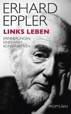 Links leben von Erhard Eppler (Gebundene Ausgabe) | Buch