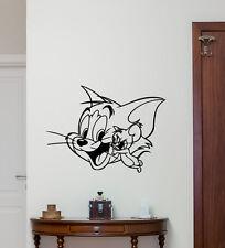 Tom And Jerry Wall Decal Cartoon Vinyl Sticker Nursery Decor Art Poster  209zzz Part 33
