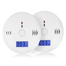 CO CO2 Melder Gasmelder Gaswarner LCD Monoxide Alarm Detektor Kohlenmonoxidmelde