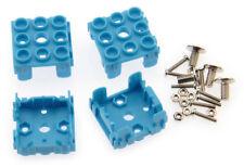 Lot de 4 supports pour module Grove 1 x 1 bleu - SEE441BLU-LT4