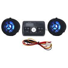 """7/8"""" Bar USB FM MP3 Audio Speaker For Can-Am Spyder Roadster RS RT Phantom"""