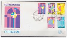 Surinam / Suriname 1980 FDC 41 Religie religion easter ostern paques