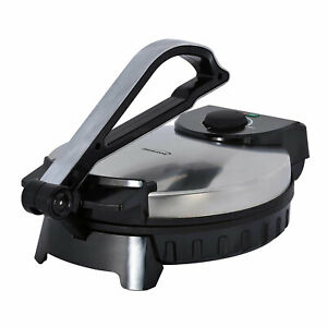 Brentwood Electric Tortilla Maker 12 In Non Stick Roti Adjustable Heat