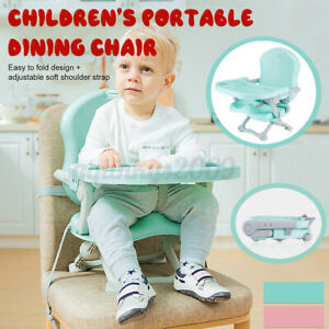 Portable Foldable Baby Dining Chair Child Feeding Seat Eating Toddler High Chair