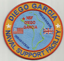 US NAVY BASE PATCH, DIEGO GARCIA NAVAL SUPPORT FACILITY                        Y
