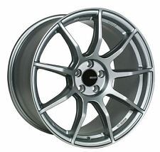 17x8/9 Enkei TS9 5x114.3 +45 Platinum Grey Rims Fits Honda S2000