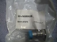 Lot of 5 KAVM050025 - Agilent Vacuum ADAPTER, 0.500in MALE VCR TO NW25 KF