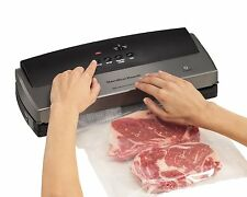 New listing Best Vacuum Sealer Automatic Fresh Sleek Food Saver System Starter Bags Included