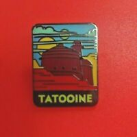 Gorgeous Tatooine hard enamel pin badge - backpack, lanyard, star wars