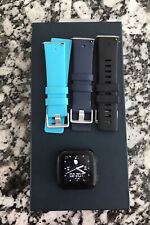 Fitbit Versa Smartwatch, Large - Black Works Perfectly! Charger, Bands Included