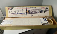 Vintage Top Flite P-47 Thunderbolt R/C Model Airplane Kit Complete In Box NOS