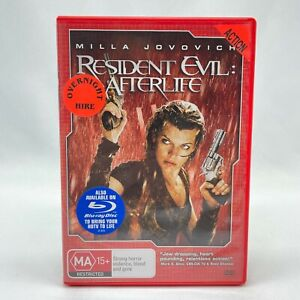 Resident Evil: Afterlife (DVD, 2010) R4 With Milla Jovovich In Good Condition