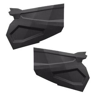 SuperATV Full Plastic Doors for Polaris RZR XP 1000 / Turbo / 900 S (Set of 2)
