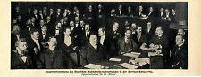 Assemblée générale D. allemands musique directeurs Fédération de Berlin schlaraffia c.1900