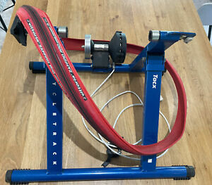 TACX CYCLE TRACK MAGNETIC TURBO TRAINER *and* Vittoria Zaffiro Pro Home Trainer