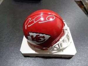 Patrick Mahomes Autographed Kansas City Chiefs Speed Riddell Mini Helmet w/ COA
