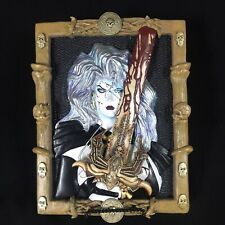 Brian Pulido Lady Death Porcelain Plaque/Wall Relief 539 of 3000 Moore Creations
