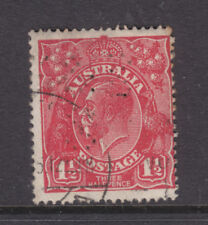 PERFIN:   ? & ? S  ON 1 1/2d RED KGV SINGLE  WMK  USED