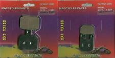 Derbi Disc Brake Pads GPR50/GPR80 2004-2014 Front & Rear (2 sets)