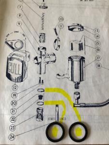 British Seagull Outboard  Amal  carburetor  Repair kit  (Genuine Seagull)