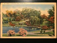 Vintage Postcard>1944>Cadwalader Park>Trenton, New Jersey