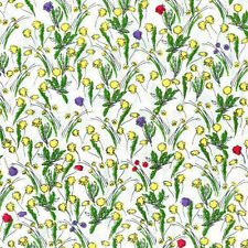 Makower Fat Quarter Floral Craft Fabrics