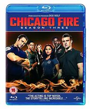 Chicago Fire Complete Series 3 Blu Ray All Episodes Third Season Original UK NEW