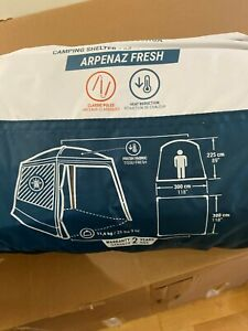 NEW DECATHLON QUECHUA Arpenaz Fresh Camping Shelter Base Living Area Tent NEW
