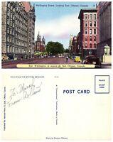 CANADA Postcard Ottawa, Wellington Street Looking East (A7)