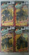 4X NEW THE CORPS! COMMANDO FORCE ELITE EDITION ACTION FIGURES! LANARD TOYS! a47