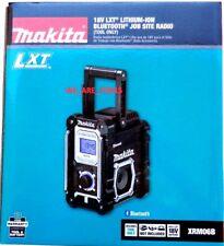 New Makita XRM06B Bluetooth Radio LXT Jobsite Cordless Battery Power A/C 18 Volt