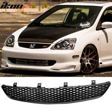 Fits 02-05 Honda Civic 3Dr Ep3 SI Hatchback Grill Grille T-R