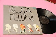 NINO ROTA LP I FILM DI FELLINI ORIG ITALY 1973 EX GATEFOLD AND DEEP GROOVE