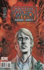 Doctor Who Classics Series 2 #6 comic book The Fifth 5th Doctor TV show series
