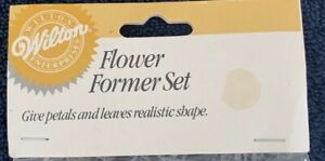 """Wilton Flower Former Set Brand New Contains Nine 11"""" Formers 3 Widths"""