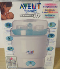 AVENT Express IQ ° elektronischer Dampfsterilisator 6 Min. Baby Fläschchen AVENT