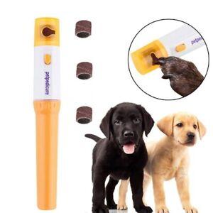 Dog Nail Grinder Electric Low Noise Pet Nail Grinder Cordless Manicure Trimmer