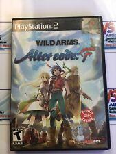 Wild Arms: Alter Code F - Bonus Disc / Manual / Case Only * NO Disc *