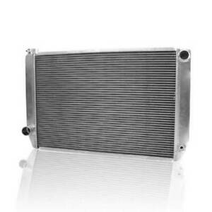 """Griffin 1-26272-X Universal Fit Radiator 31"""" x 19"""" 2-Row Crossflow Ford Style"""