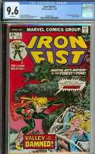 IRON FIST #2 CGC 9.6 WHITE PAGES