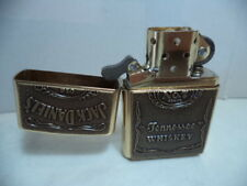 ZIPPO ACCENDINO LIGHTER JACK DANIEL'S OLD 7 HIGH  BRASS VERY RARE NEW