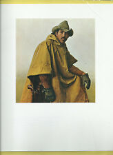 "Tony Martin,Hunting Guide""-Cowboy,Yellow Slicker-Western Art Print by JAMES BAMA"