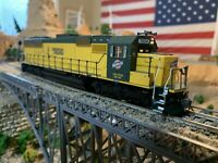 "HO Scale Athearn SD-50 CNW DCC Powered Diesel Locomotive, Detailed ""life Saver"""