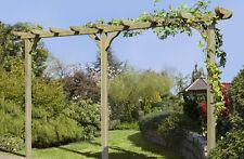 Pergola Kiefer 9 x 9 x 450 cm grün imprägniert Pfosten Holz Doppel kdi NEU