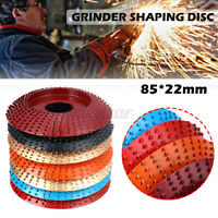 85*22mm Carbide Wood Sanding Carving Shaping Disc For Angle Grinder Grind Wheel