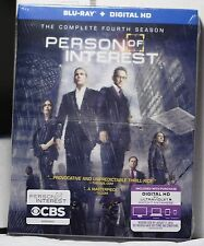 NEW PERSON OF INTEREST SEASON 4 BLU-RAY+HD ULTRAVIOLET! 4 DISCS! FACTORY SEALED