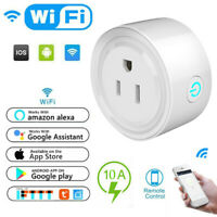 Smart Power Socket Wifi Switch Remote Control Timer Outlet Adapter US Plug Home